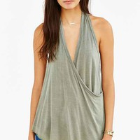 Truly Madly Deeply Wrap Halter Top