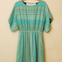 Ace and Jig Ray Dress in Isle - Hawthorn Shop
