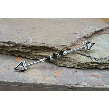 Triangle Industrial Barbell