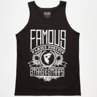 Famous Stars & Straps Let It Be Mens Tank Black  In Sizes