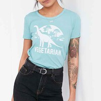 Truly Madly Deeply Vegetarian Dinosaur Tee