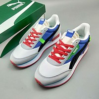 PUMA FUTURE RIDER PLAY ON new retro low-cut couple sports trend running shoes