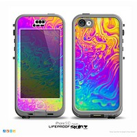 The Neon Color Fushion V2 Skin for the iPhone 5c nüüd LifeProof Case