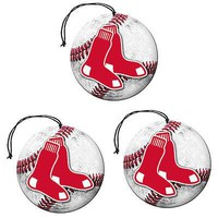 Licensed Official New MLB Pick Your Team Car Paper Hanging Air Freshener 3 pack Vanilla Scent