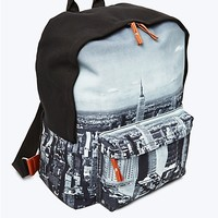 NYC Canvas Zip Backpack
