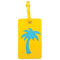 LoloBag - Luggage Tag | Turquoise Palm Tree