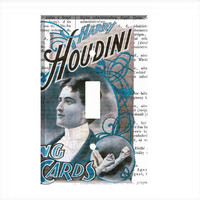Light Switch Cover - Light Switch Plate Harry Houdini Magic