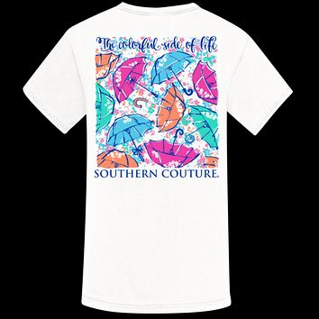 Southern Couture Colorful Side of Life Comfort Colors T-Shirt