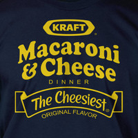 Macaroni and Cheese Screen Printed T-Shirt Tee Shirt T Shirt Mens Ladies Womens Youth Kids Funny Hippy Green Living Nice