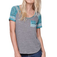 Nollie Raglan T-Shirt - Womens Tee