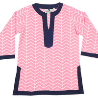 Vortex Pink Girl's Tunic, Small, Children's Clothing