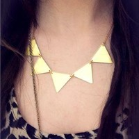 Bunting Necklace from Lockie & Lulu