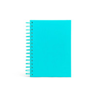 Aqua Medium Spiral Notebook