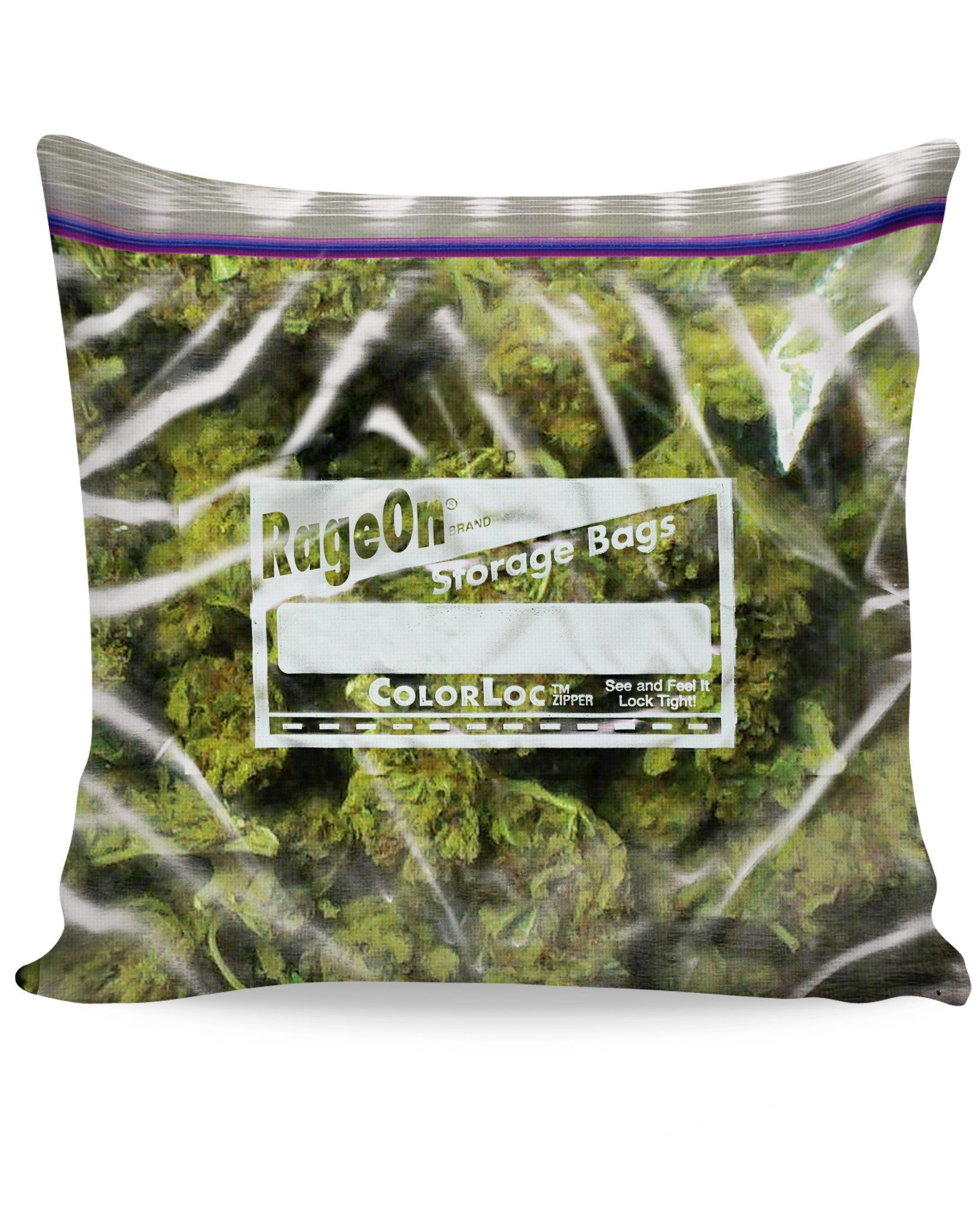 Image of Weed Bag Couch Pillow