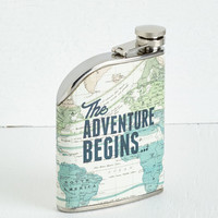 Travel Taste for Adventure Flask by ModCloth