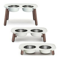 Messy Mutts Elevated Double Feeder Limited Edition Legs