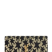 Saint Laurent 'Large Kate' Star Print Wallet on a Chain   Nordstrom