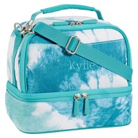 Gear-Up Pool Tie-Dye Dual Compartment Lunch