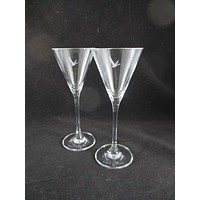 Gray Goose Cocktail Glasses  S/2