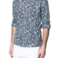 FLORAL PRINT SHIRT - Man - New this week - ZARA United States