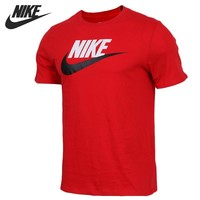 Original New Arrival 2018 NIKE AS M NSW TEE ICON FUTURA Men's T-shirts short sleeve Sportswear