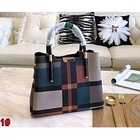 BURBERRY Fashionable Women Shopping Bag Leather Handbag Tote Shoulder Bag 1#