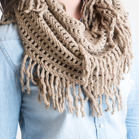 The Infinite Infinity Scarf Mocha