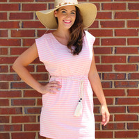 I'm All Yours Dress - Pink/Cream