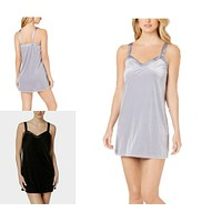 Flora by Flora Nikrooz Velour Chemise Nightgown Various Sizes, Colors