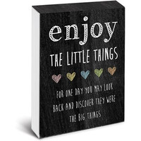 Enjoy the Little Things Pocket Note