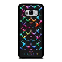 COACH NEW YORK RAINBOW Samsung Galaxy S8 Case