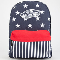 Vans Realm Backpack Navy One Size For Women 25112421001
