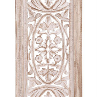 Benzara Classy Unique Styled Wood Wall Panel