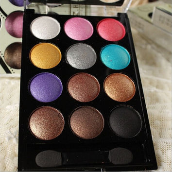 New Arrival Eyeshadow Cosmetics Mineral Make Up 12 different colors Natural Eye Shadow Palette Random delivery BH10086 (Color: Multicolor) = 1753491844