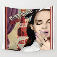 Lana DelRey Wall Tapestry by CaitlinNicole | Society6