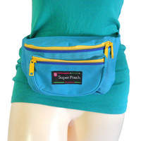 Vintage 90s Fanny Pack 80s Fanny Pack Neon Fanny Pack Bum Bag 90s Bag 90s Accessories Little Bag Hipster Bag 90s Party 80s Party 1990s