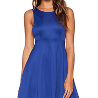 Toby Heart Ginger Avril Skater Dress in Royal