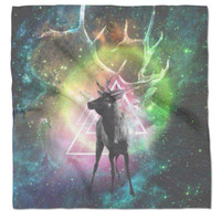 Galaxy Elk Blanket