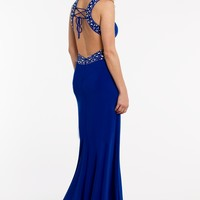 Jersey Beaded Halter Dress from Camille La Vie and Group USA