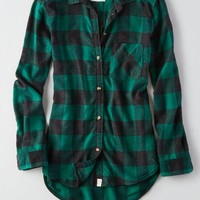 AEO Women's Canyon Boyfriend Flannel