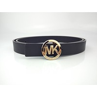 MK's new fashion versatile buckle belt for men and women