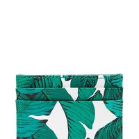 Foliage Print Coin Purse
