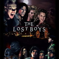 """017 The Lost Boys - 1987 American Horror Film Movie 14""""x18"""" Poster"""