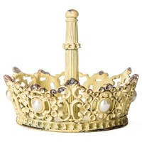 Yellow Pewter Ring Holder with Pearls   Shop Hobby Lobby