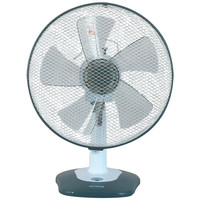 """Optimus 12"""" Oscillating Table Fan With Soft Touch Switch"""