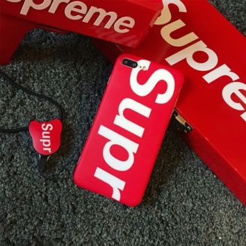 superme print phone shell phone case for Iphone 6/6s/6p/7p/8p/7/8/x