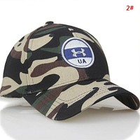 Under Armour New fashion embroidery letter camouflage cap hat 2#