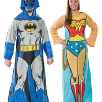 Superhero Fleece Sleeved Blankets