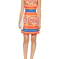 Sasha Floral Fit And Flare Dress