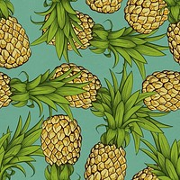 Crazy Pineapples Wallpaper